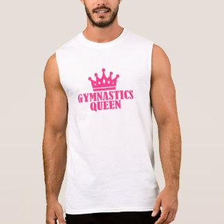Gymnastics Queen Sleeveless Shirts