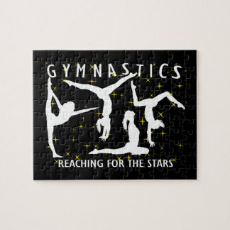 Gymnastics Reaching For The Stars Puzzle