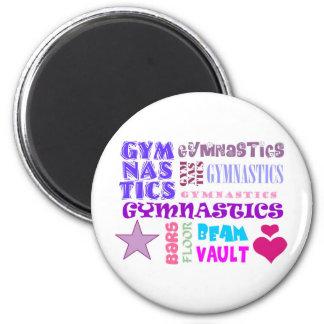 Gymnastics Repeating Magnet