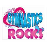 Gymnastics Rocks Gifts Postcards
