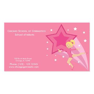 Gymnastics School Business Cards