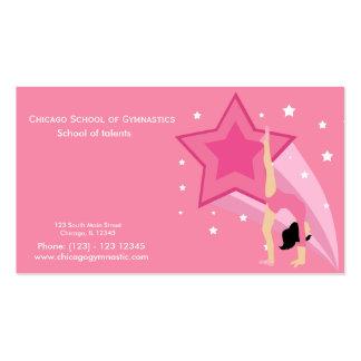 Gymnastics School Business Card Template
