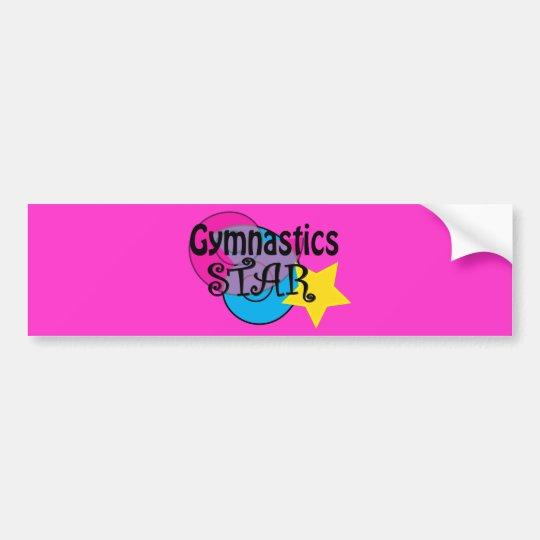 Gymnastics Shirts for Gymnasts Bumper Sticker
