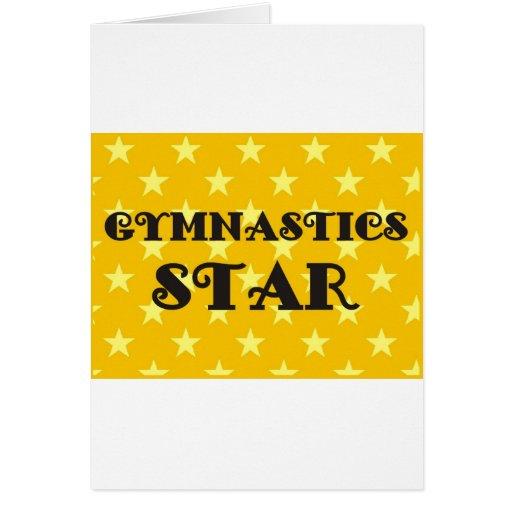 Gymnastics Star Cards