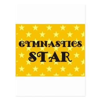 Gymnastics Star Postcards