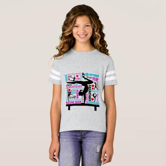 Gymnastics Subway Art Design T-Shirt