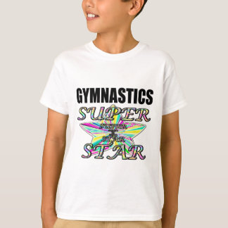 Gymnastics star t shirts shirt designs zazzle uk Gymnastics t shirt designs