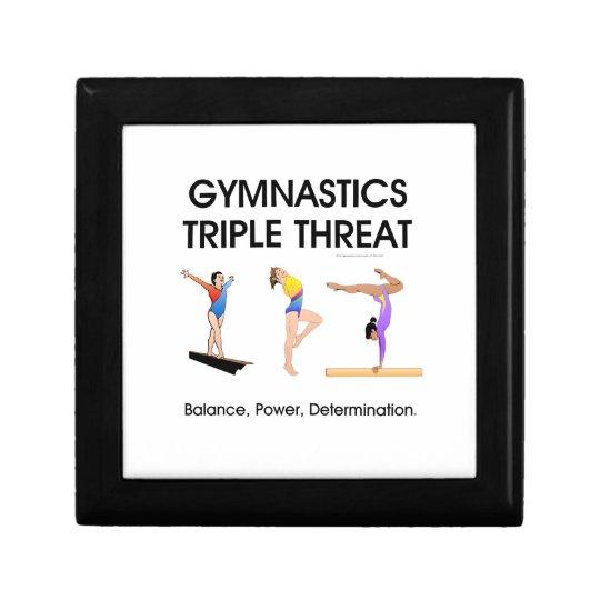 Gymnastics Triple Threat Gift Box