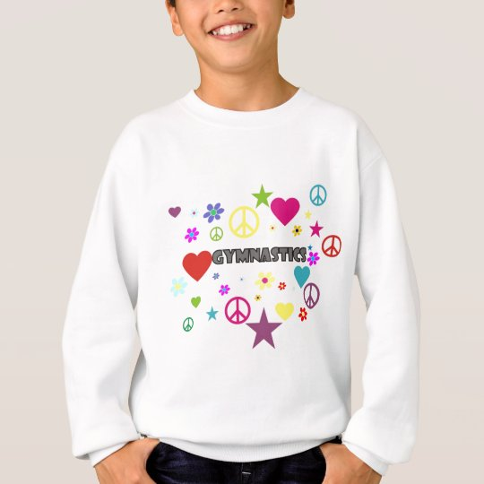 Gymnastics with Mixed Graphics Sweatshirt