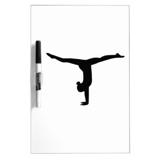 Gymnastics yoga dry erase board