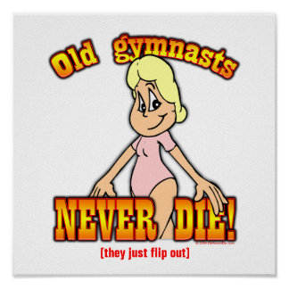 Gymnasts Posters
