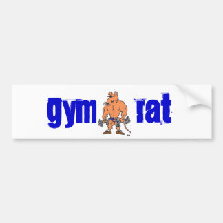 gymratgear_1791_1674, GYM , RAT Bumper Sticker