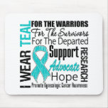 Gynaecologic Cancer I Wear Teal Ribbon TRIBUTE