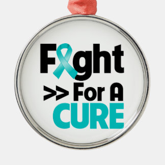 Gynecologic Cancer Fight For a Cure Christmas Ornament