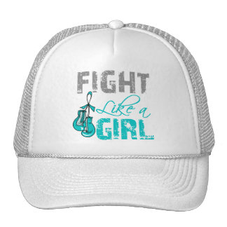 Gynecologic Cancer Gloves Fight Like a Girl Cap
