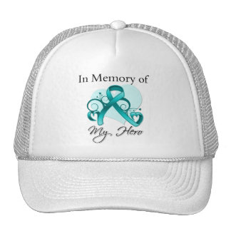 Gynecologic Cancer In Memory of My Hero Mesh Hats