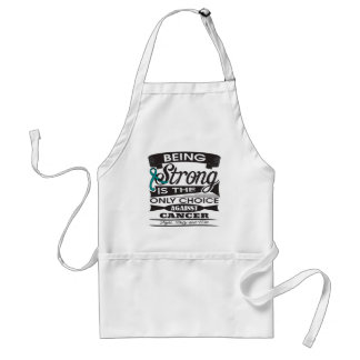 Gynecologic Cancer Strong is The Only Choice Aprons