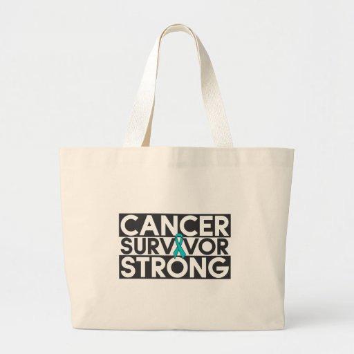 Gynecologic Cancer Survivor Strong Canvas Bag