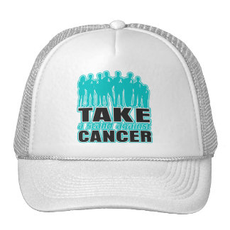 Gynecologic Cancer -Take A Stand Against Cancer Hats