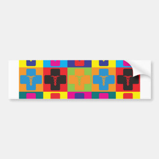 Gynecology Pop Art Bumper Sticker