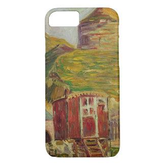 Gypsies at Port-en-Bessin, 1883 (oil on canvas) iPhone 7 Case