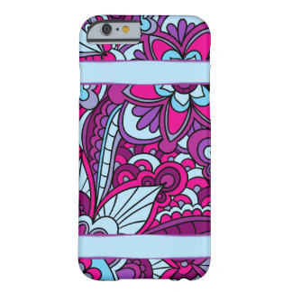Gypsy, Boho Vivid Blue and Purple Barely There iPhone 6 Case
