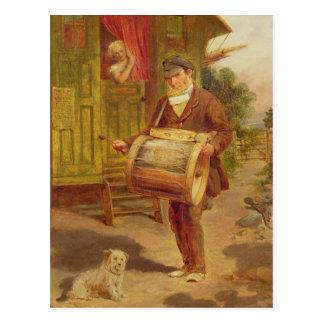 Gypsy Caravan Postcard