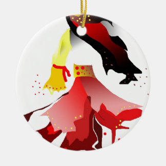 gypsy christmas ornament