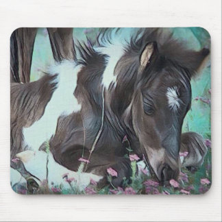 Gypsy Cob Foal Mouse Mat