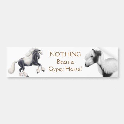 Gypsy Cob Horse Bumper Sticker