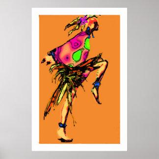 Gypsy  Dancing Poster