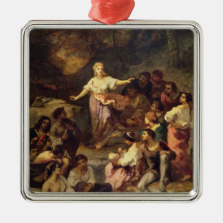 Gypsy Encampment, 1848 Christmas Ornament