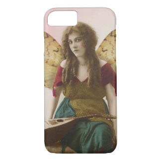 Gypsy Fairy with Mandolin Altered Vintage Photo iPhone 7 Case