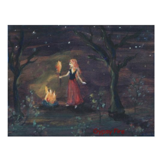 Gypsy Fire Postcard