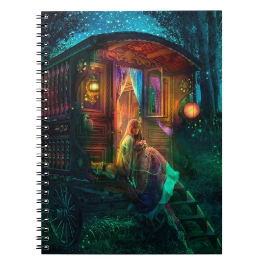 Gypsy Firefly Notebook