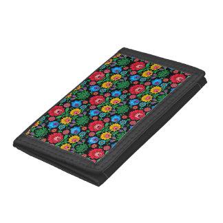 Gypsy Floral Nylon Wallet