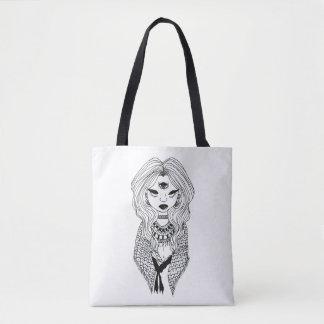 Gypsy Fortune Teller Tote Bag