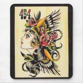 """Gypsy Girl"" Mouse Mat"