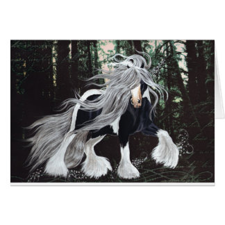 Gypsy Horse Fantasy Card