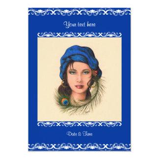Gypsy 5x7 Paper Invitation Card
