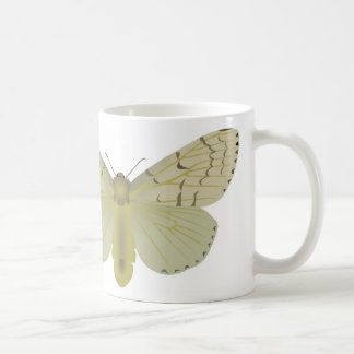 gypsy moth basic white mug