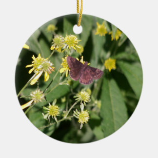 Gypsy Moth Christmas Ornament