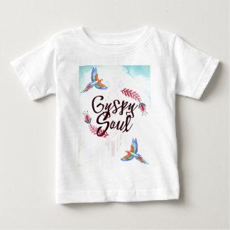 Gypsy Soul - Boho Tribal Hippy Heart Baby T-Shirt
