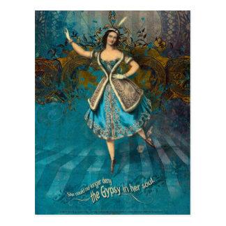 Gypsy Soul Postcard
