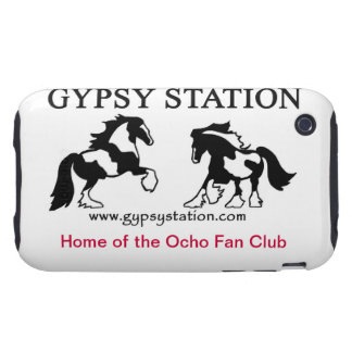 Gypsy Station I-phone cover Tough iPhone 3 Covers