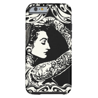 Gypsy tattooed woman phone case tough iPhone 6 case