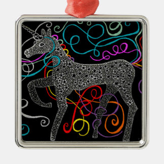 Gypsy the magic unicorn complete christmas ornament
