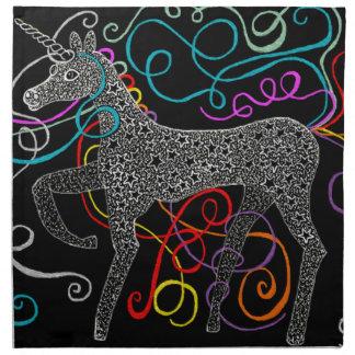 Gypsy the magic unicorn complete napkin