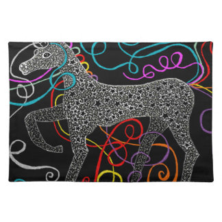Gypsy the magic unicorn complete placemat