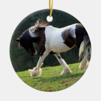 Gypsy Vanner Christmas Ornament